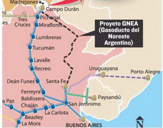 Corrientes y Misiones podrían traer gas natural desde Paso de los Libres