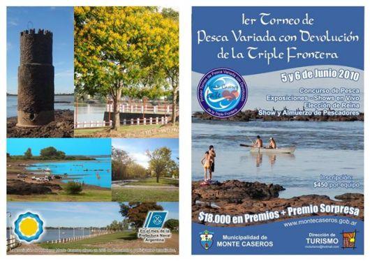 1º Torneo de Pesca Variada con devolución en la Microregión Sur