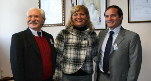 Ricardo, Pruyas y Camau acompañaron a Nancy Sanz en el Aniversario de Bella Vista