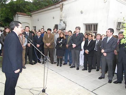 El Gobierno inauguró el Pabellón de Internación en el sector de Clínicas Médicas