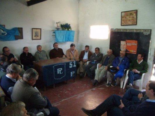 El Partido Liberal congregó a sus dirigentes del Sur provincial