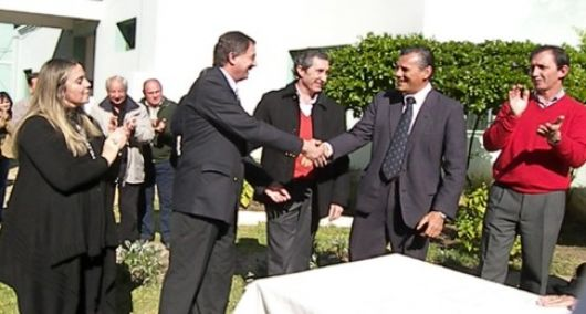 Martín Arrieti asumió como director del Hospital de Monte Caseros