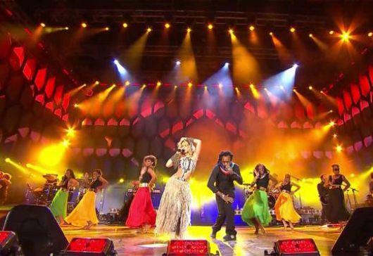 Mundial: Shakira cerró la fiesta