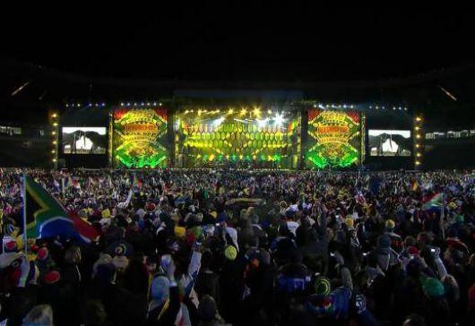 Arrancó la fiesta del Mundial