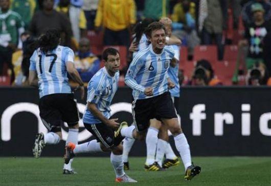 Argentina logró ganarle a Nigeria