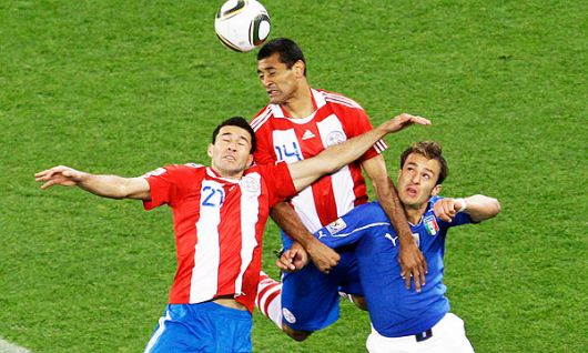 Paraguay sorprende y vence a Italia, el último campeón