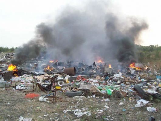 Más de 100 multas por tirar residuos en la zonas no permiticas