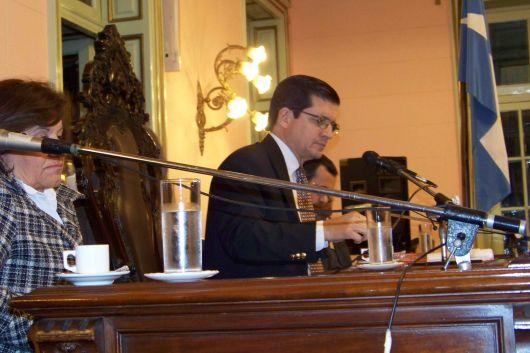 Audiencia Pública para los doctres Reyes y Alegre