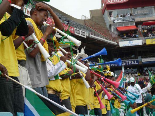 No rompan la paciencia con las vuvuzelas