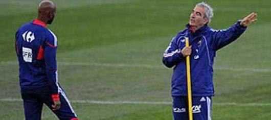 Incidente con el técnico Domenech: Francia echa a Anelka del Mundial