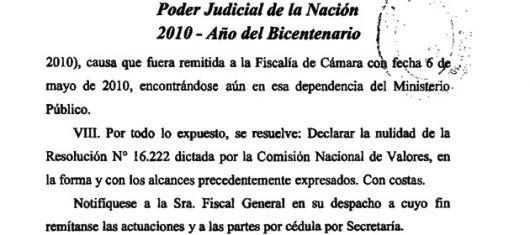 Golpe a Moreno: La Justicia anuló una resolución de la CNV contra Papel Prensa