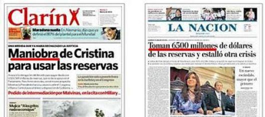 """La guerra continúa: El Gobierno denunció penalmente a """"Clarín"""" y """"Papel Prensa"""""""