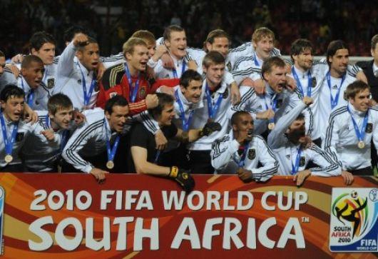 Alemania subió al podio Mundial