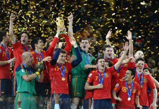 Por primera vez, España Campeón