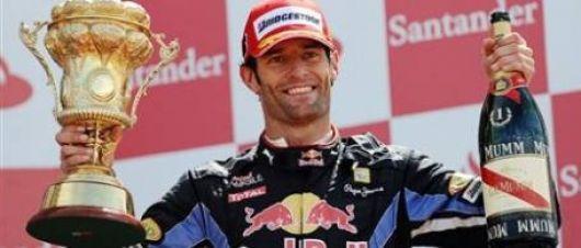 Webber ganó el GP de Gran Bretaña