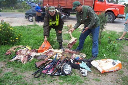 Correntinos, principales infractores en pesca y caza ilegal