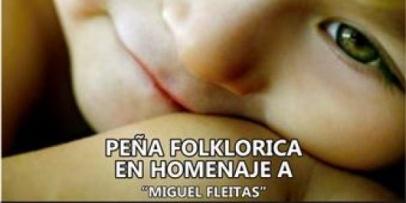 """Homenaje al reportero gráfico """"Miguel Fleitas"""""""