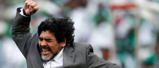 """Diego Maradona podría decir """"no"""" a la propuesta de Grondona"""