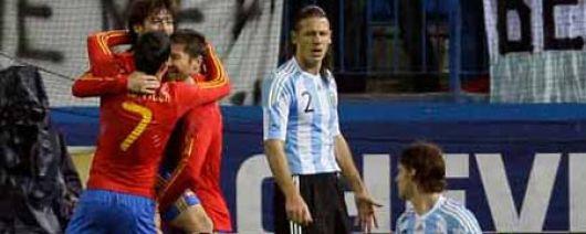 Se viene un amistoso Argentina-España