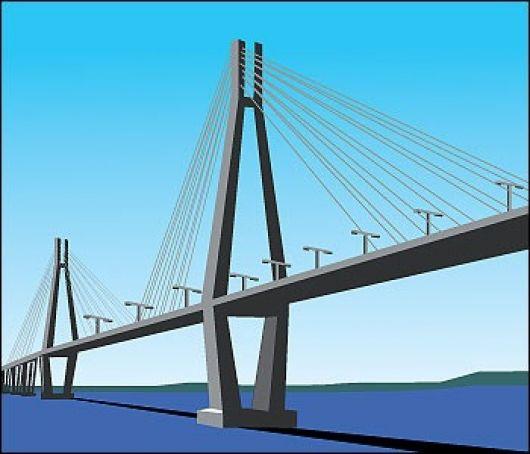 Puerto y puente en agenda nacional