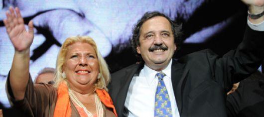 Carrió y Alfonsín encabezan un acto en territorio cobista para darle impulso al Acuerdo Cívico