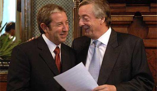 Cerca de Kirchner y Cobos ratifican que serán candidatos en 2011