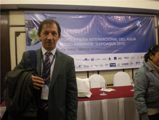 """El intendente de Monte Caseros representa al país en la """"Expo agua 2010"""""""