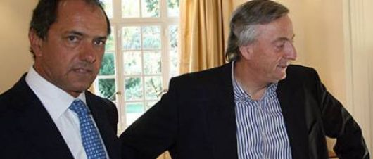 Kirchner y Scioli casi no se hablan