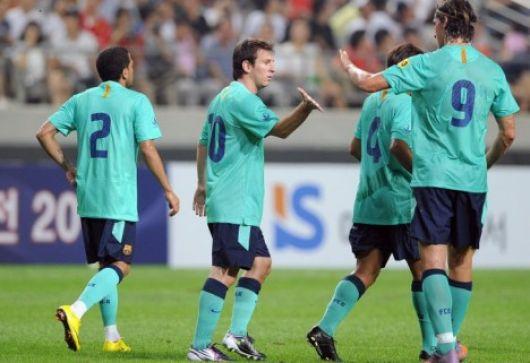 Doblete de Messi y chau polémica