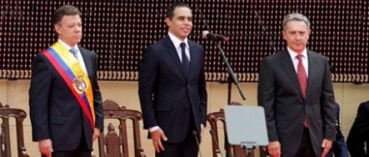 Asumió Santos en Colombia