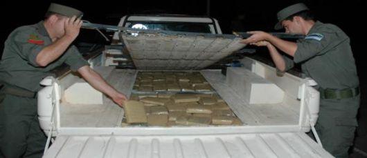 Confiscan casi 500 kilos de marihuana tras persecución