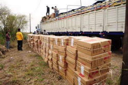 La AFIP secuestró 600 mil pesos en cigarrillos