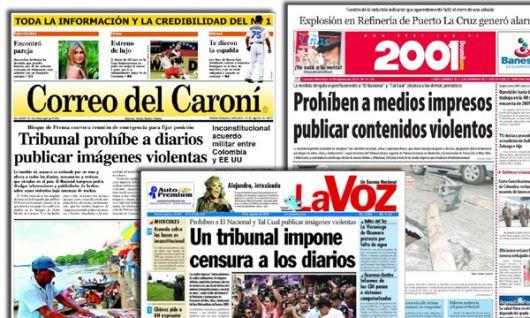 Se consumó la censura de Chávez: conmoción en Venezuela