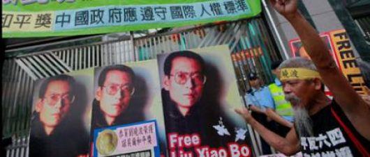 El Nobel de la Paz causó reacciones en el mundo a favor de Liu Xiaobo