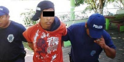 Menor de 16 años saqueaba una vivienda