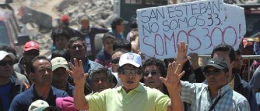 """A los mineros que no fueron parte de """"los 33"""" les deben U$S 25 millones"""