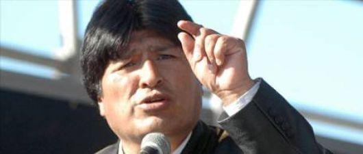 """Cables de WikiLeaks aseguran que Evo Morales padece un """"grave tumor"""""""