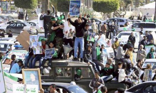 Gadafi perdió el control de Libia...