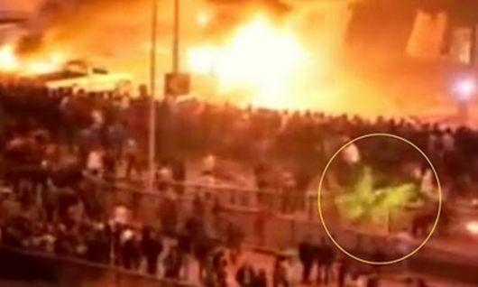 Captan en video a uno de los cuatro jinetes del apocalipsis