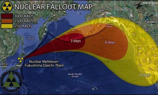Japón está bajo una nube radiactiva