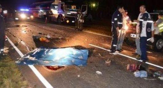 Accidente fatal en ruta 12
