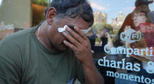 Moyano repudió las represiones de Cristina