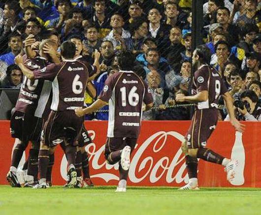 """Lanús remontó el resultado (2-2) y Boca quedó """"frustrado"""""""