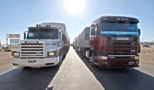 Paro de camioneros podría afectar el abastecimiento