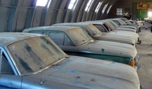 Secuestran más de 40 Falcon de la dictadura