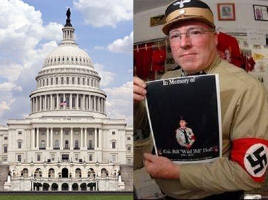 Los nazis llegan al Capitolio