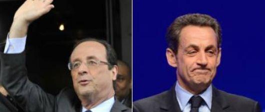 Hollande venció a Nicolas Sarkozy