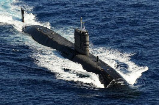 submarino nuclear de Londres a Malvinas