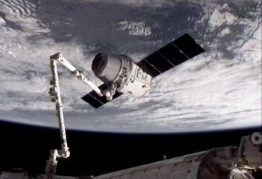 Histórico acoplamiento en el espacio