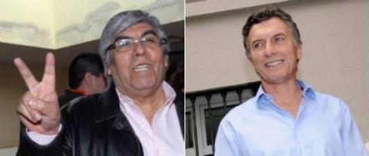 Macri y Moyano sellan acuerdos